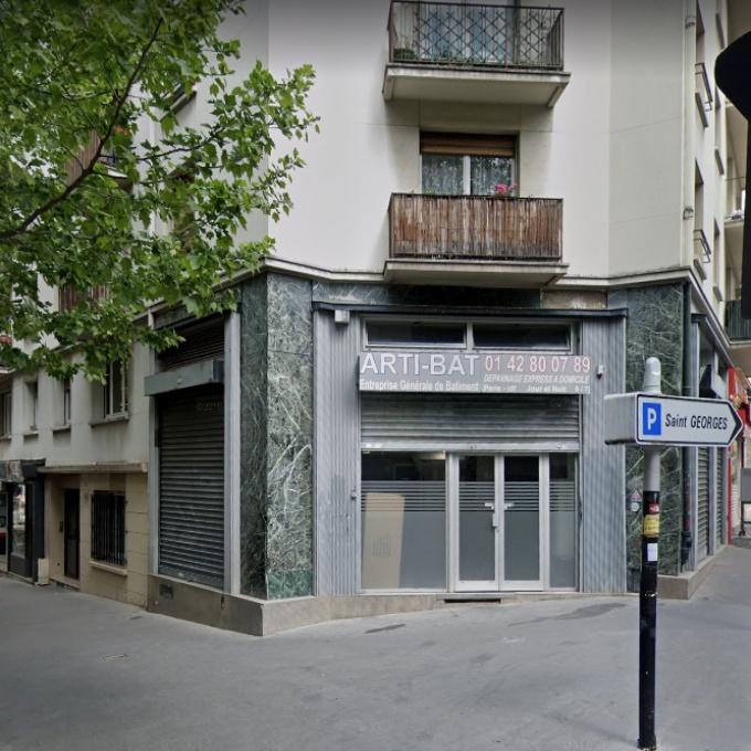 Location Immobilier Professionnel Local commercial Paris (75019)